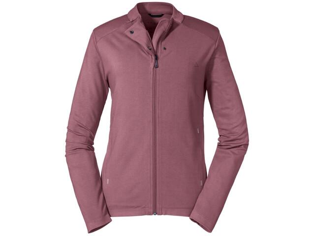 Schöffel Parnell Fleece Jacket Women, red moscato